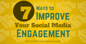 7 Ways to Improve your Social Media